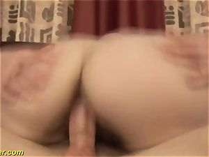 wooly stepmoms first massive facial