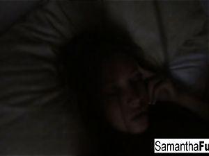 Samantha Home vid Morning fun