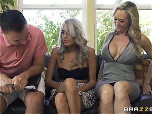 nanny Janice Griffith joins Brandi enjoy for a smashing