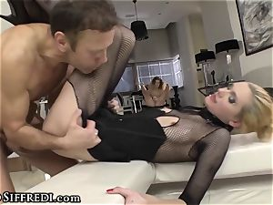 fledgling nubile drains two Rocco Siffredi ass fucking ravaging