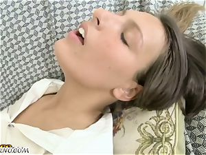 The astounding Russian porn. yummy sweetie prepared for rectal