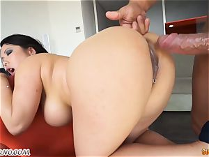point of view fledgling vid with a immense asian dame and her fresh boyfriend