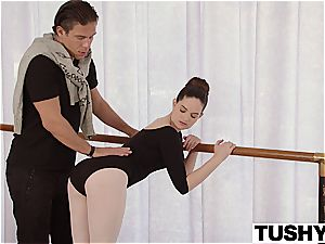 TUSHY youthful Ballerina investigates ass-fuck fuck-fest with schoolteacher