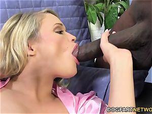 Heather star desires About gigantic ebony sausage
