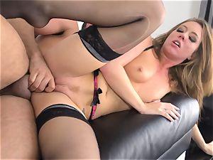 Maddy OReilly slammed utter in her underwear