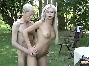 elderly youthful porno nubile Gold Digger assfuck fuck-fest With grandpa